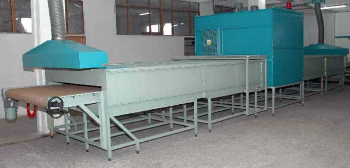 Timsan Machine Rubber Curing Tunnel Oven With Conveyor